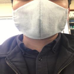 マスクゴムの作成マスクです