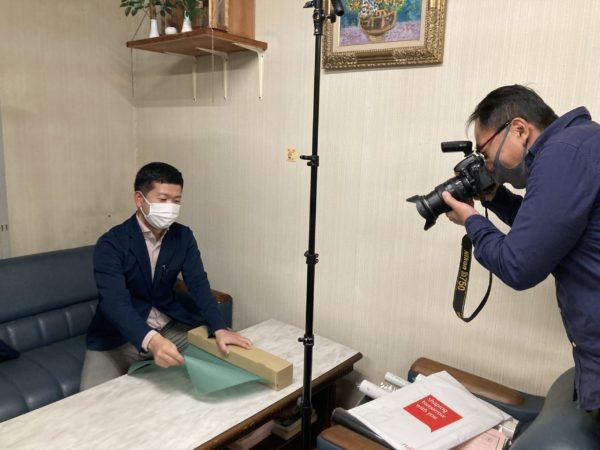 石川県産業創出支援機構から取材を受けました