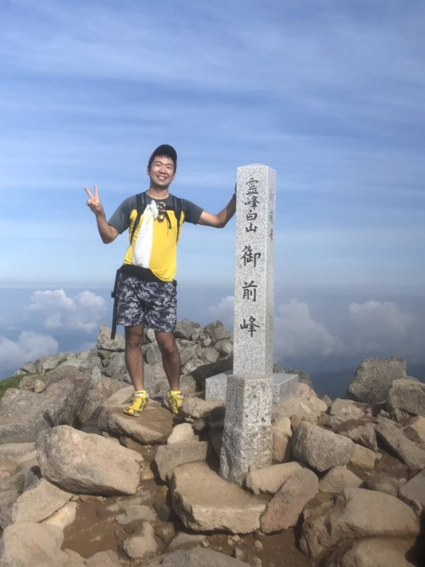 白山に登りました